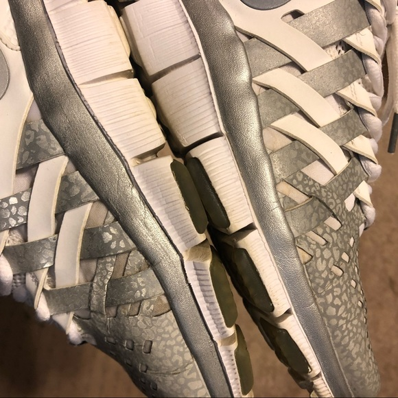 Nike Free Trainer 5.0 NRG 3M White Silver Size 9.5